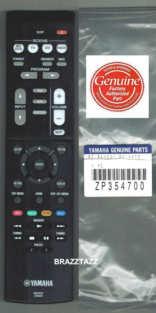 Universal Remote For Yamaha Rx