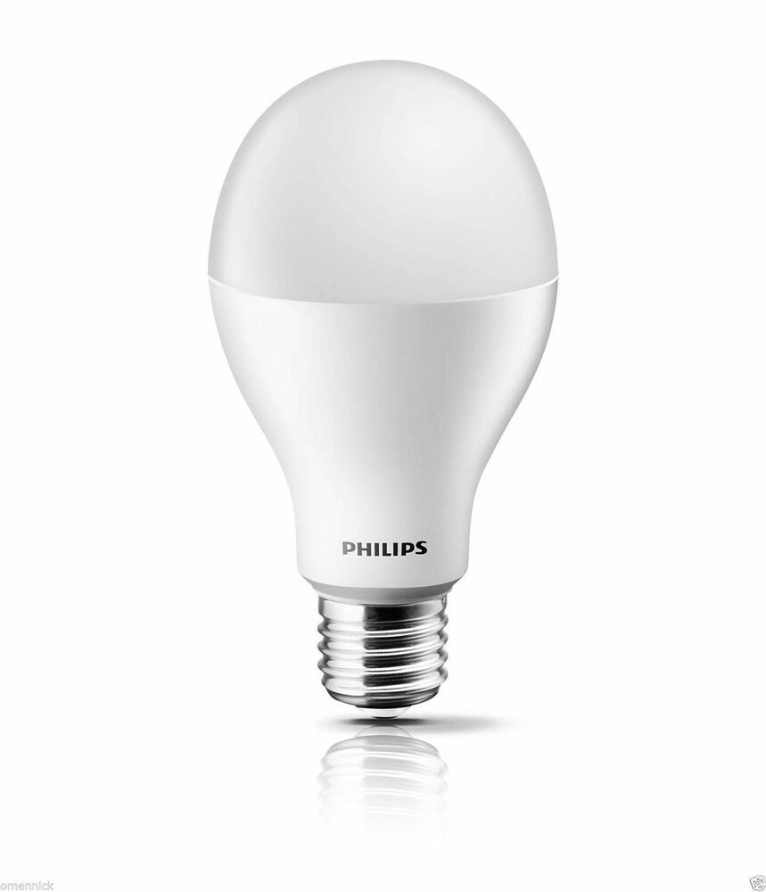led bulb lamp philips ledbulb e27 18 150w 230v 6500k a67 pf cool daylight 1950lm ebay. Black Bedroom Furniture Sets. Home Design Ideas