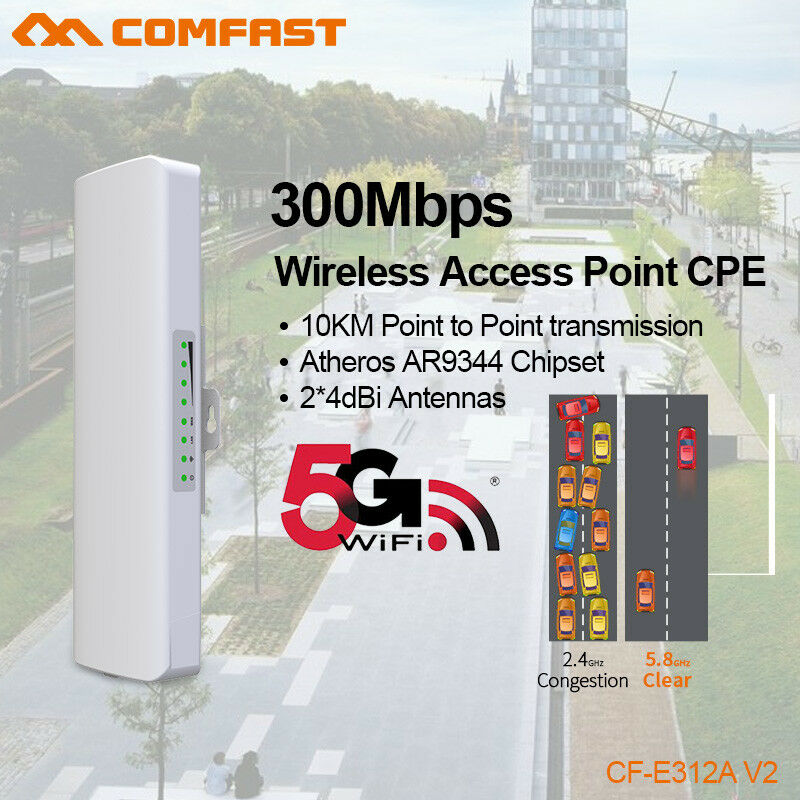 Comfast 300mbps 5g Outdoor Wireless Access Point Wifi Ap