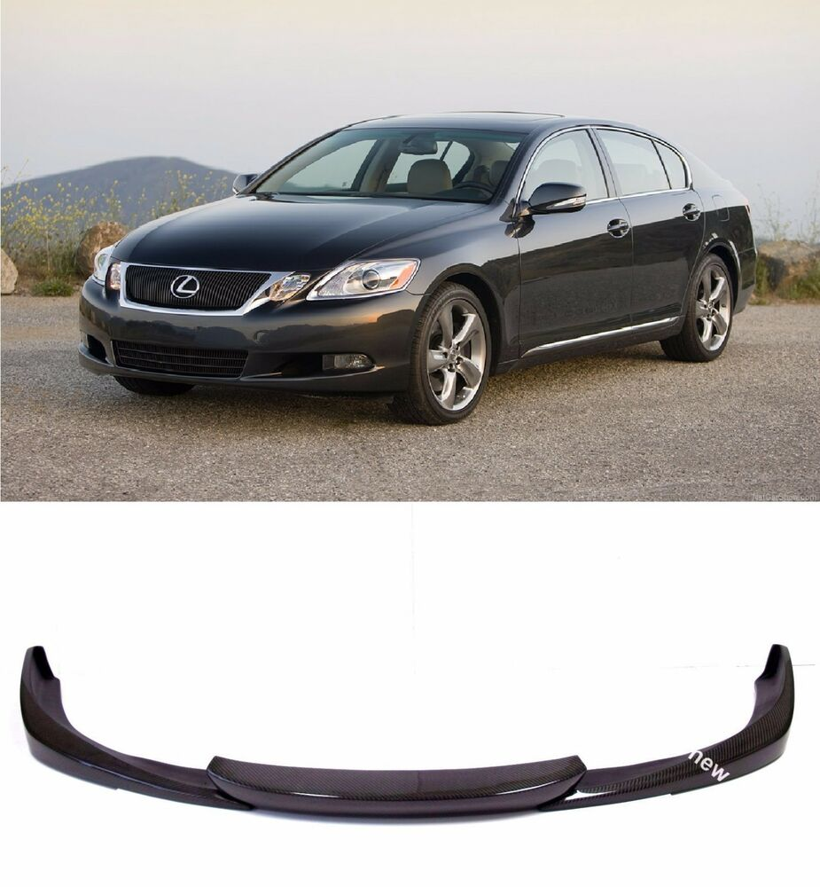 2014 Lexus Gs350: Carbon Fiber Front Lip Spoiler Splitters For 2008-2011