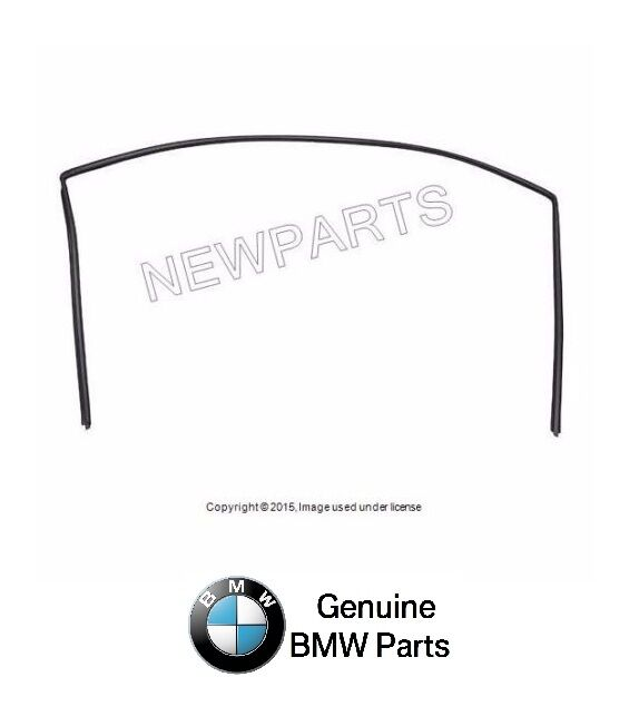 For BMW E85 E86 Front Windshield Moulding Trim Seal