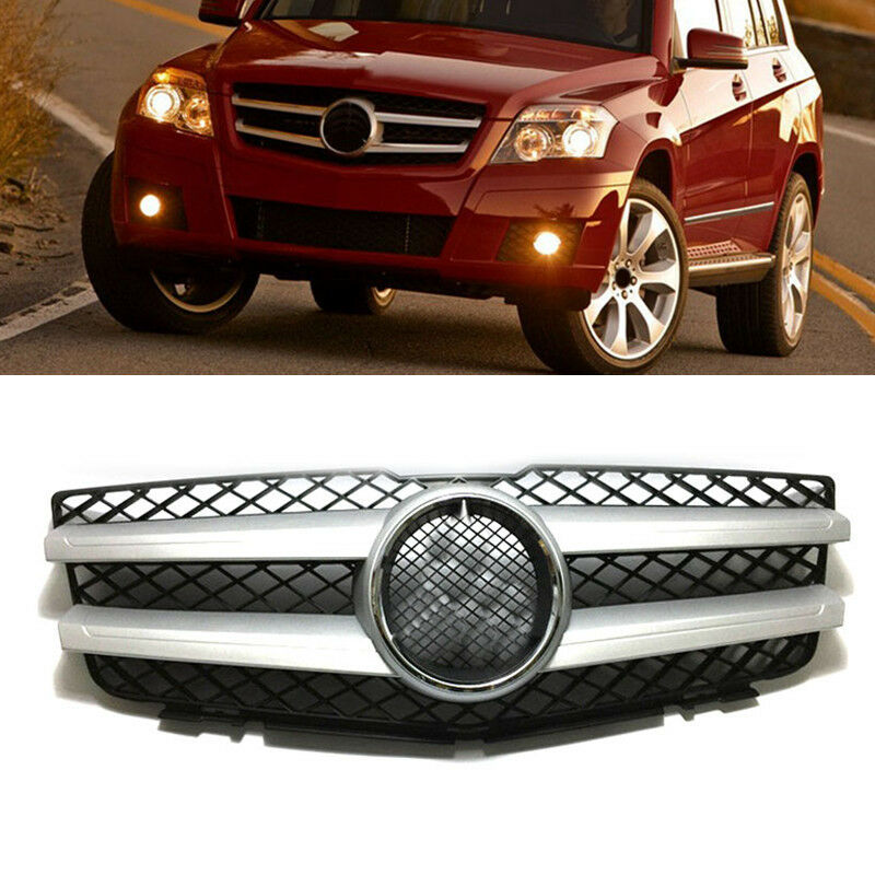 For mercedes benz class glk w204 2008 2012 front hood for Mercedes benz grills
