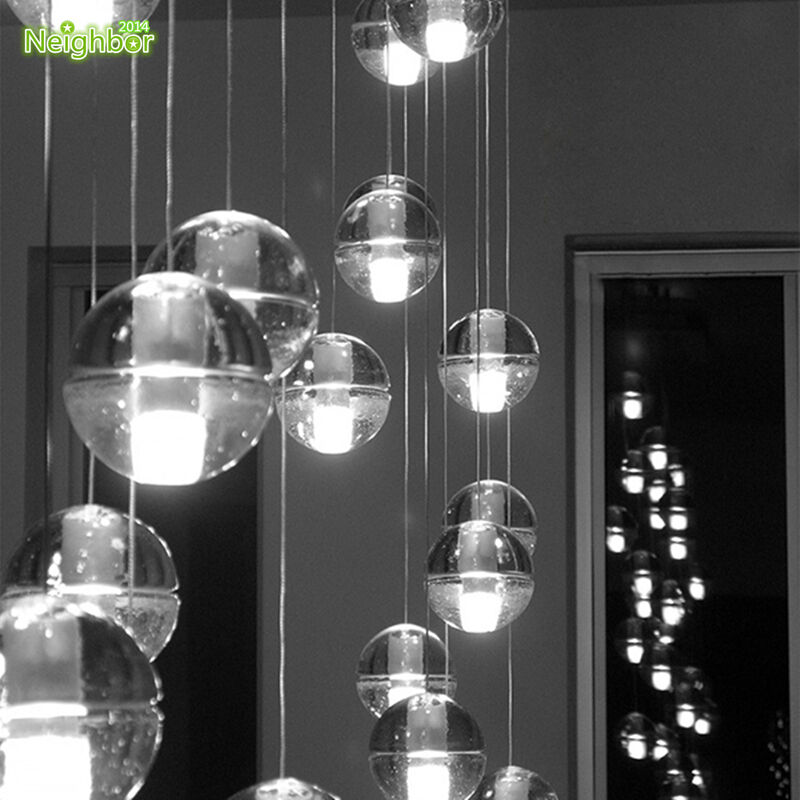 Chandelier Lighting Glass: 26drop Meteor Glass Globe Pendant Lamp Ceiling Light
