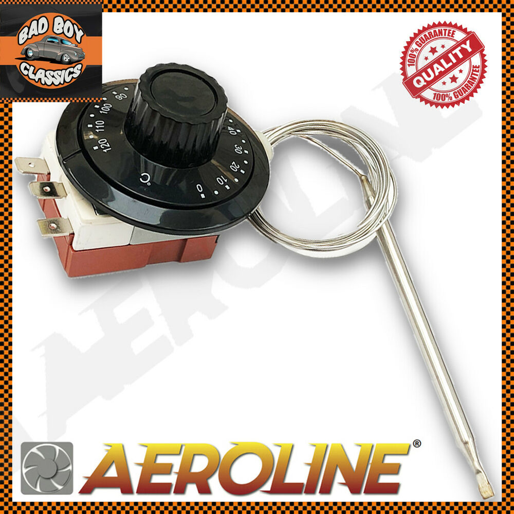 aeroline capillary thermostat cooling radiator fan control
