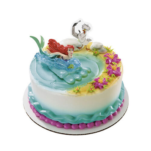 Ariel Little Mermaid Cake Topper Uk
