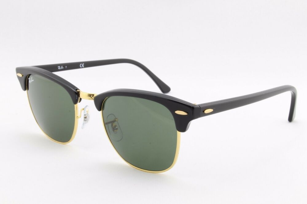 1a0a1971dab New Ray Ban Clubmaster RB3016 W0365 Designer Sunglasses Authentic Made In  Italy 805289304449