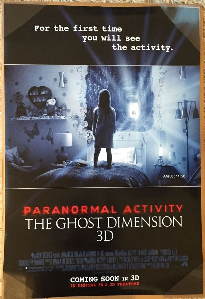 paranormal activity the ghost dimension movie poster 2