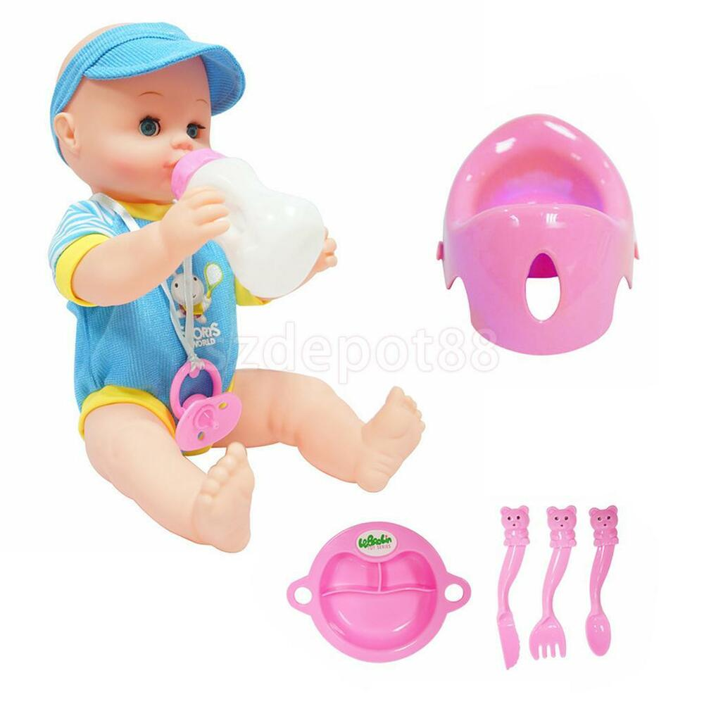 Baby Boy Dribbles Drink Amp Wet 10 Quot Doll With Potty And