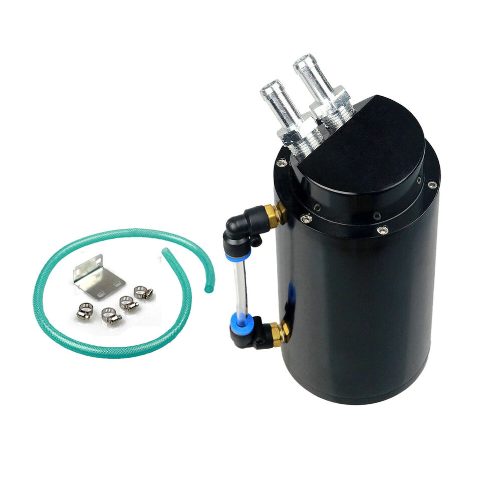 750ml capacity cylinder engine oil catch tank aluminum can. Black Bedroom Furniture Sets. Home Design Ideas