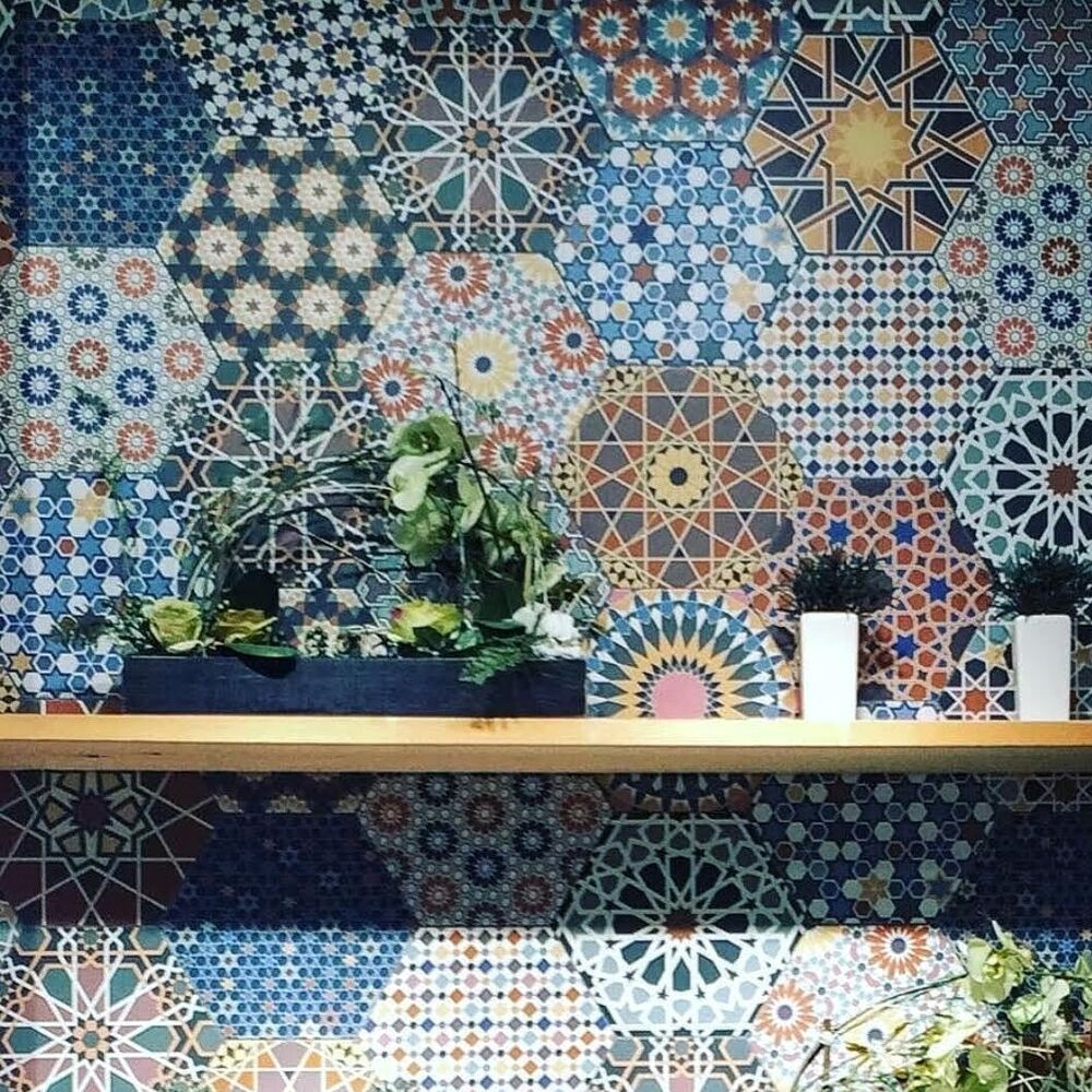 Tile Deals Samples Istanbal Hexagon Multi Patchwork
