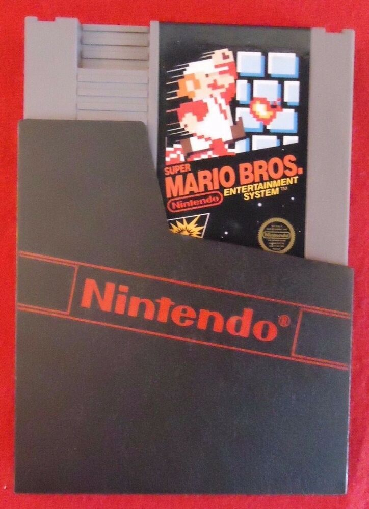 Vintage NES Super Mario Bros. Nintendo Entertainment ...