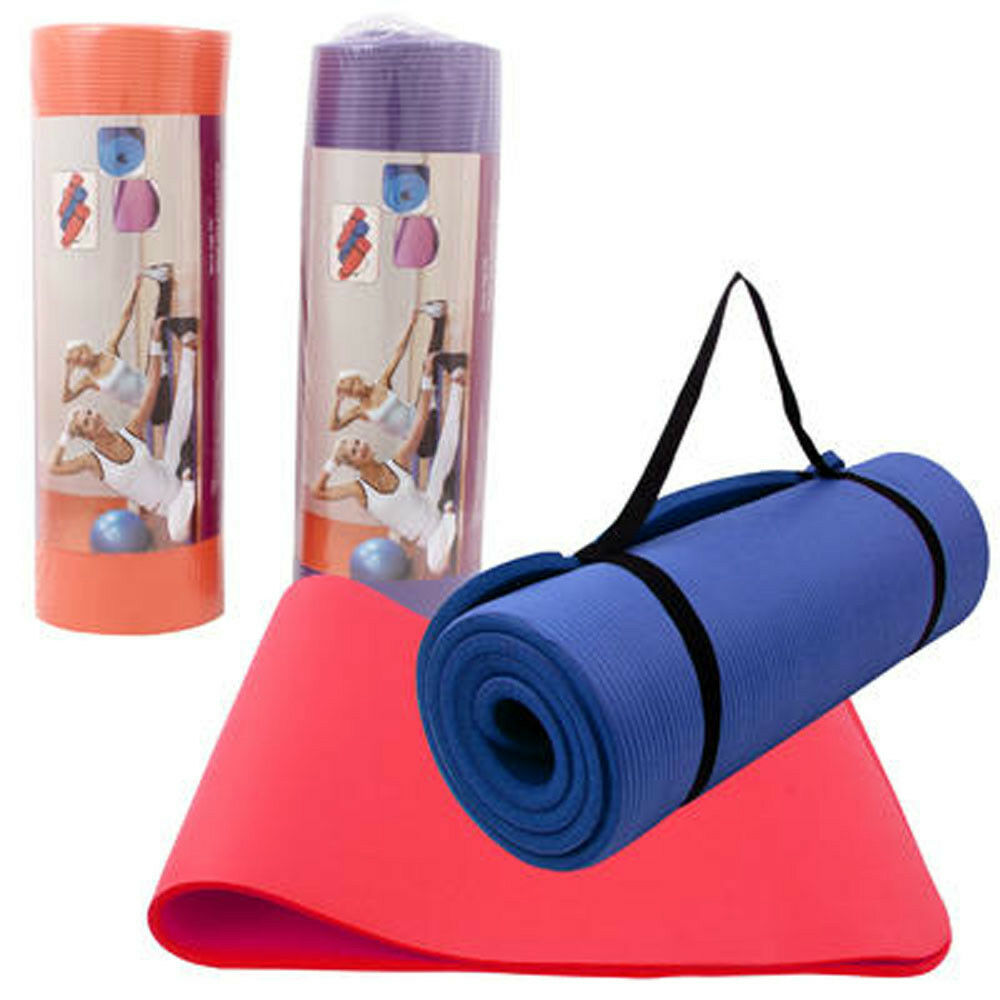 """15mm Extra Thick 72""""x24""""x0.6"""" Non-slip Fitness & Exercise"""