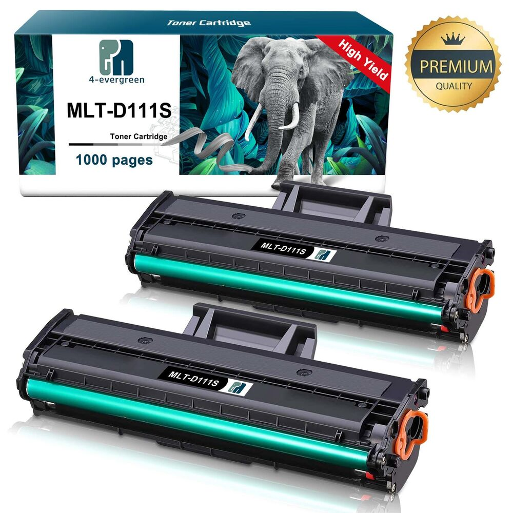 2x mlt d111s mltd111s toner fit samsung 111 xpress m2070fw m2070w m2020w printer ebay. Black Bedroom Furniture Sets. Home Design Ideas