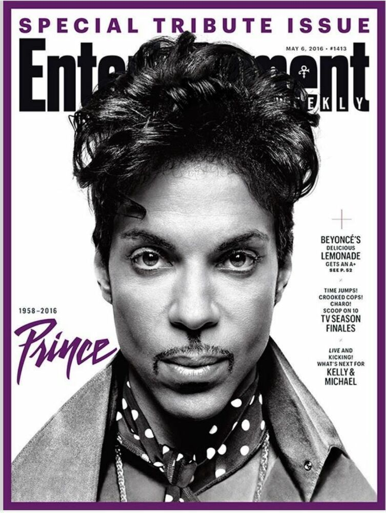 Entertainment Weekly Special Tribute Edition Prince