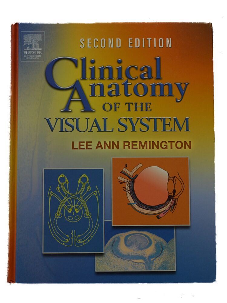 Clinical Anatomy Of The Visual System Hardcover Second Edition Book