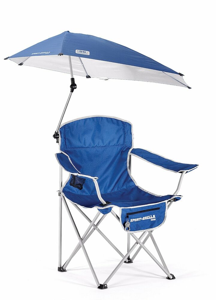 Sport Brella Chair Blue Umbrella Chair With A Full 360