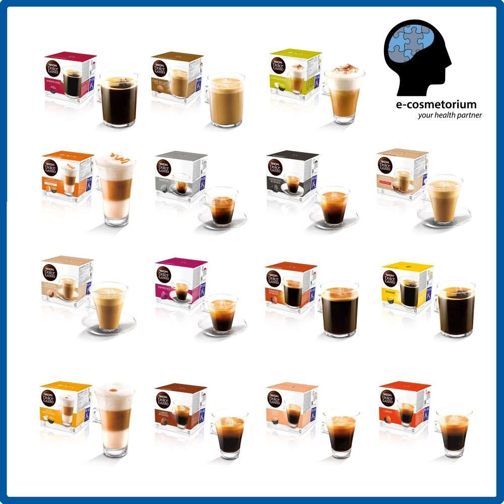 nescafe dolce gusto coffee capsules ebay. Black Bedroom Furniture Sets. Home Design Ideas