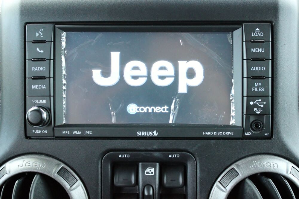 FACTORY MOPAR JEEP® 430 RBZ SIRIUS DVD AUX CD PLAYER ...