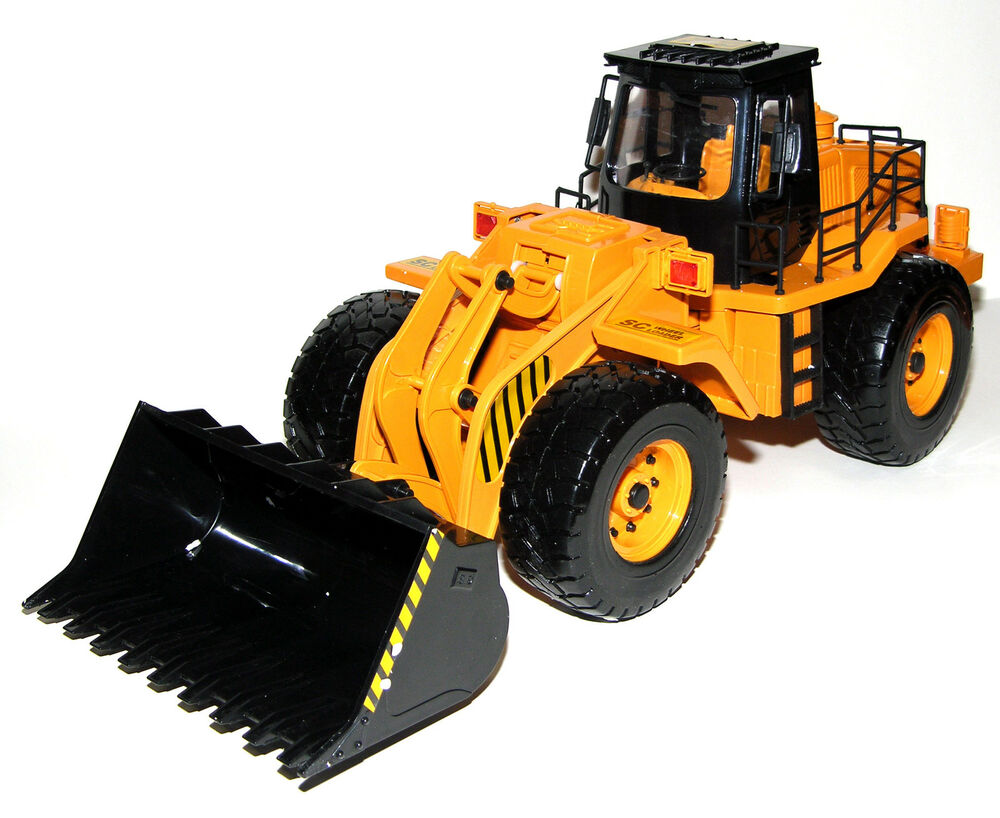 Remote Control Construction Toys : Quot scepter scraper remote control rc construction truck
