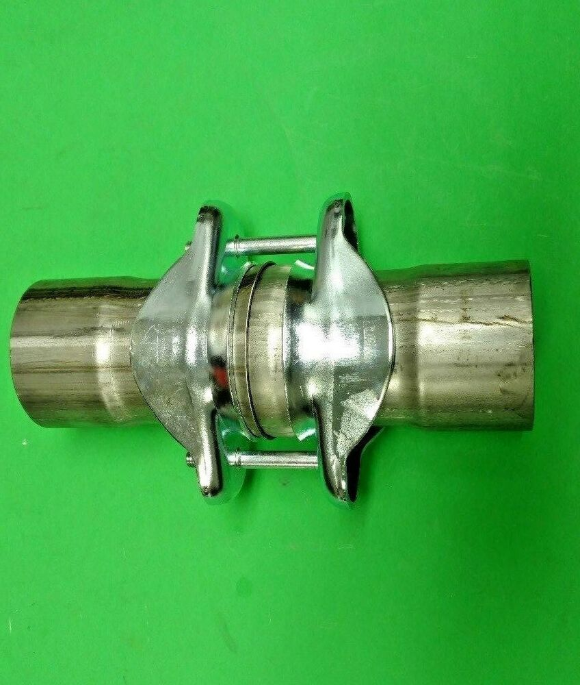 Quot id to stainless exhaust ball socket