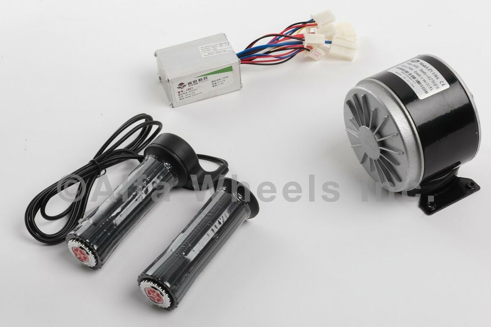 300 w 24 v dc electric motor kit w speed controller for Speed controls for electric motors