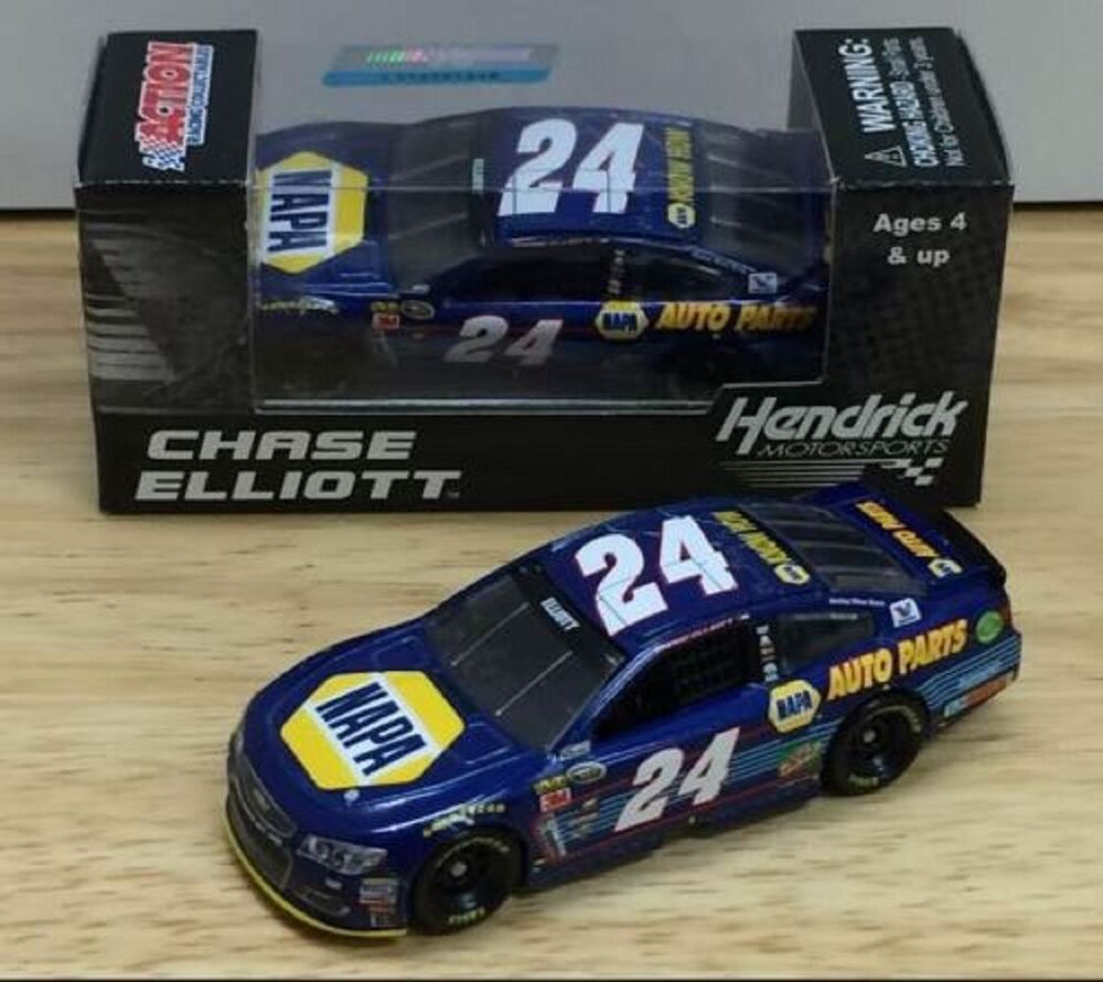 rookie nascar 2016 chase elliott 24 daytona pole win napa auto parts 1 64 car ebay. Black Bedroom Furniture Sets. Home Design Ideas