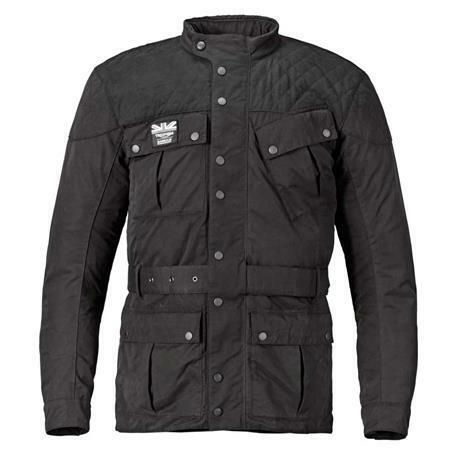 Triumph Quilted Barbour Men S Textile Motorcycle Jacket