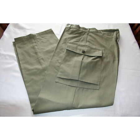 img-US AMERICAN ARMY GREEN HBT US TROUSERS WW2 REPO ALL SIZES