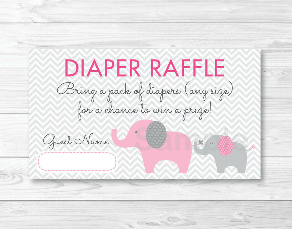 Slobbery image intended for diaper raffle free printable