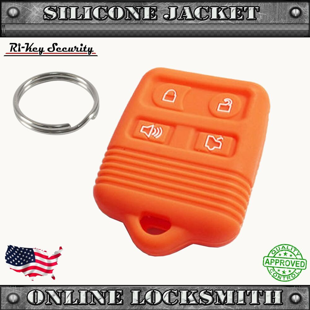 Remote Silicone Cover For Ford 4 Buttons Rubber Fob
