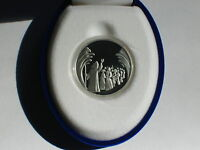 2008 Israel Moses Parting of the Red Sea Proof-Like Silver 1NIS coin - Biblical
