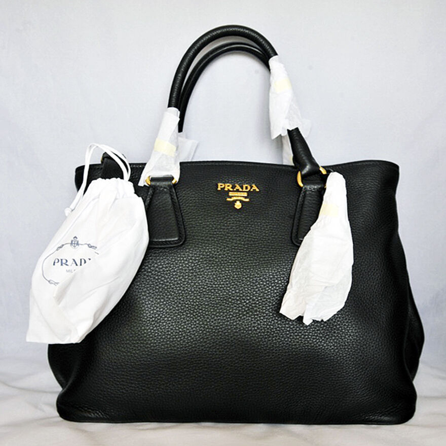 prada black purse - Prada Daino: Handbags & Purses | eBay