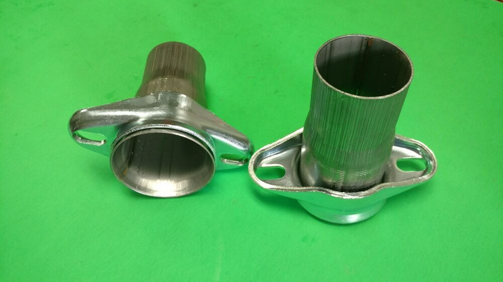 2 5 Quot Header To 2 25 Quot 409 Stainless 2 Bolt Ball Amp Socket