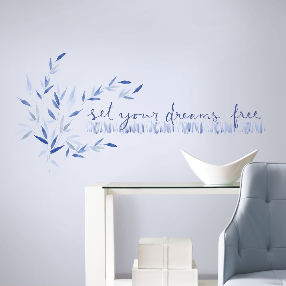 SET YOUR DREAMS FREE WALL DECALS Kathy Davis Inspirational