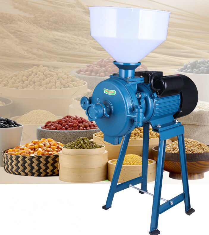 Electric Animal Poultry Feed Mill Wet Dry Grinder Corn