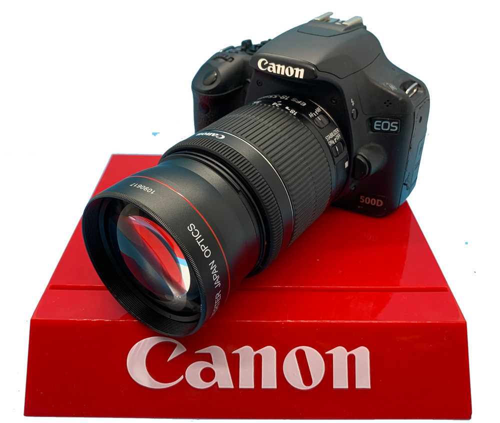 HD TELEPHOTO ZOOM LENS FOR CANON EOS REBEL D600 D650 D1100