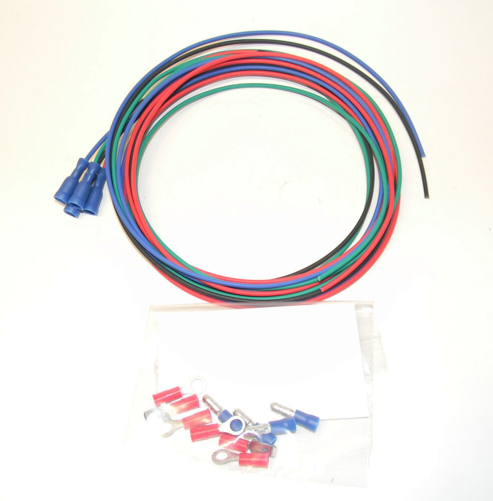 Wiring Kit For Original Sun Super Tach 2 Tachometers With