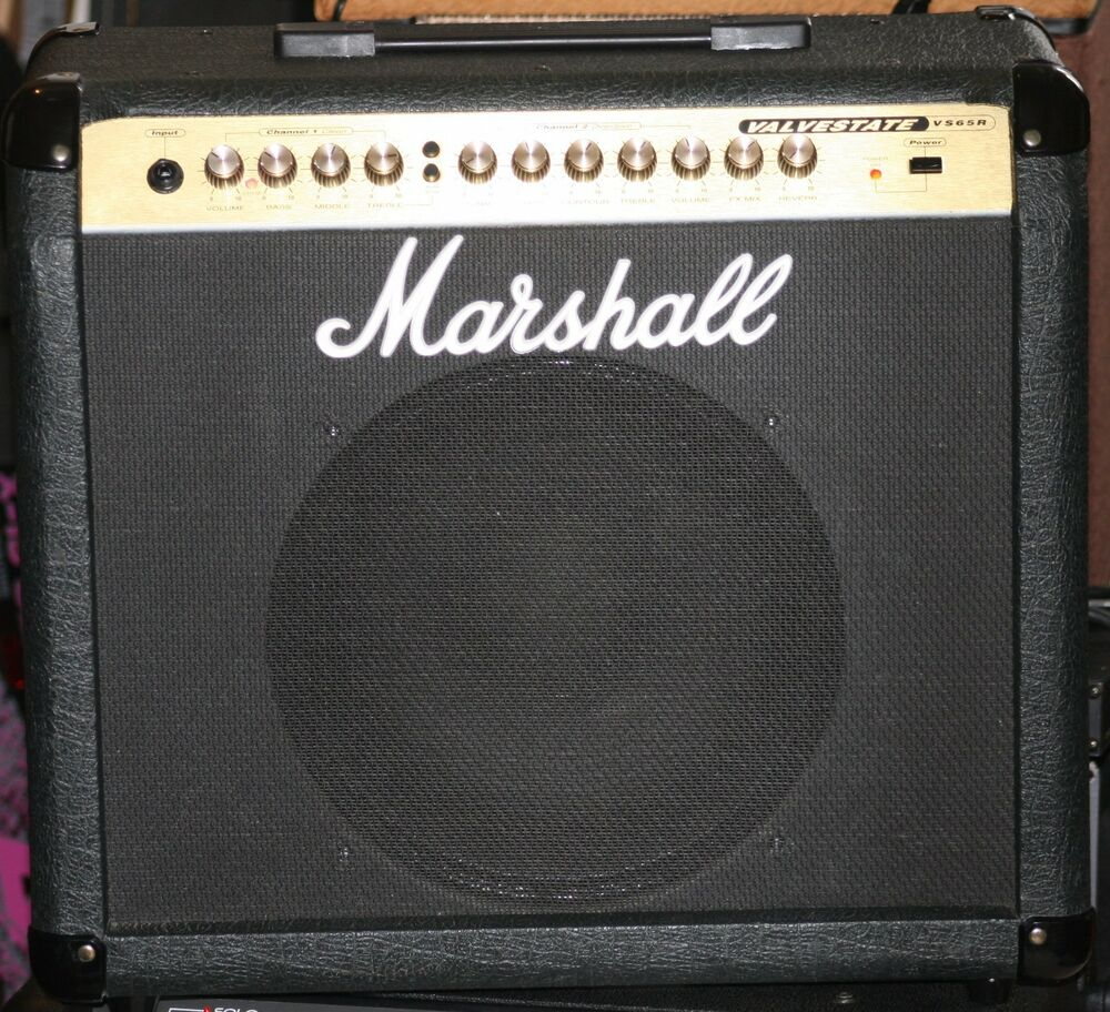 used marshall valvestate vs65r guitar combo amp 12 inch speaker reverb 65 watts ebay. Black Bedroom Furniture Sets. Home Design Ideas