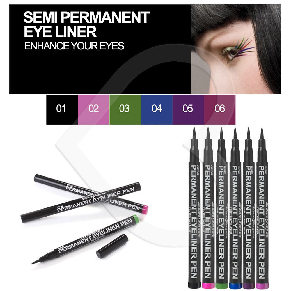 stargazer semi permanent liquid eyeliner pen eye liner. Black Bedroom Furniture Sets. Home Design Ideas