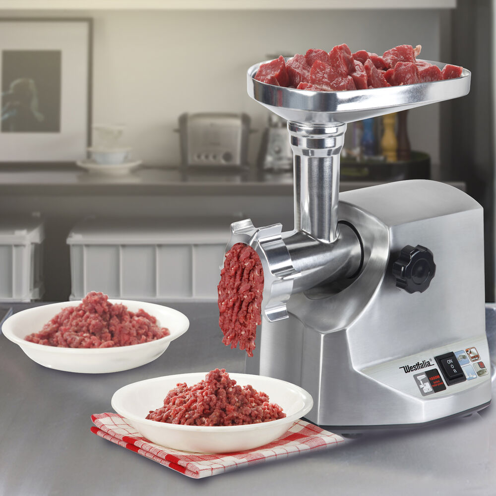 1800w Steel Electric Meat Grinder Home Commercial