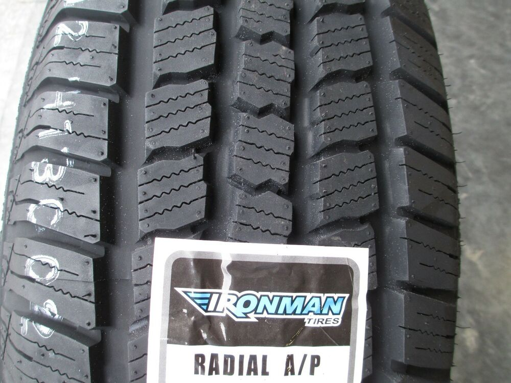 4 New P 265  70r17 Ironman Radial A  P Tires 265 70 17 R17