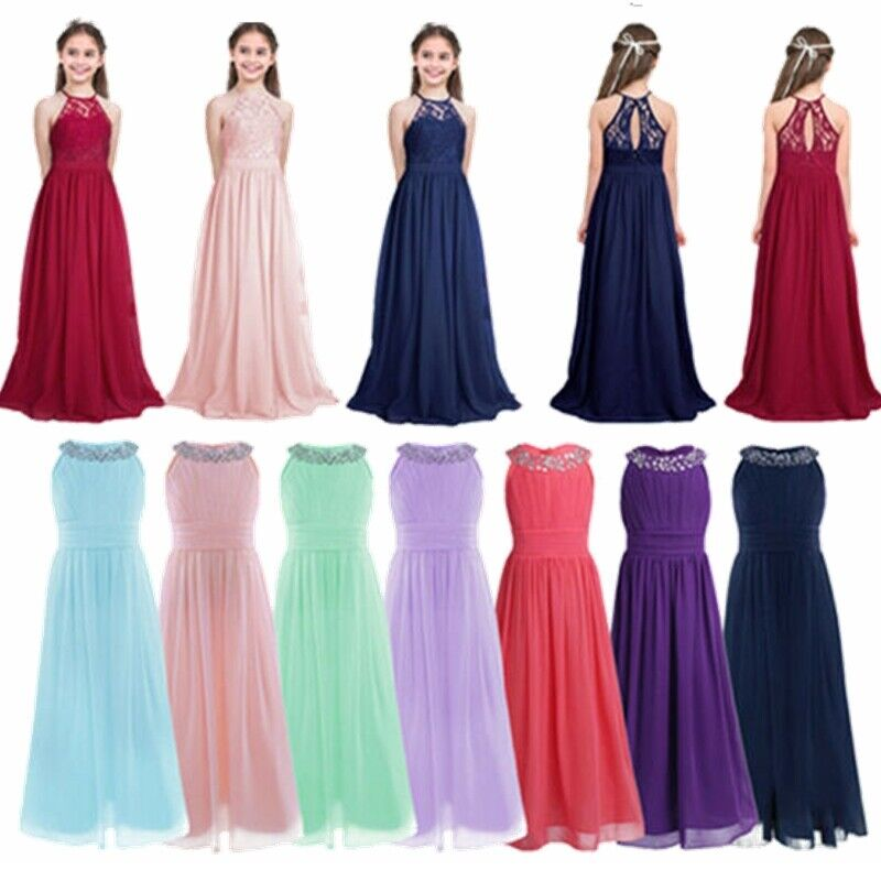 Flower girl princess pageant wedding birthday party junior for Dresses for juniors for weddings