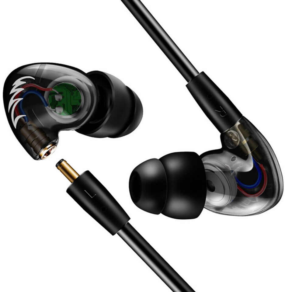 Earbuds headphones with microphone - earbuds with microphone earhook