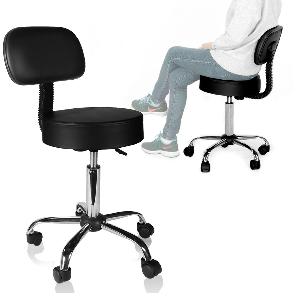 Small Office Task Armless Chair Padded Seat Mesh Back Free Delivery US SELLER