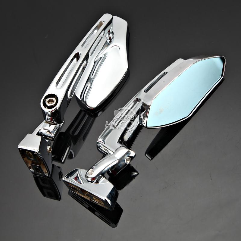Chrome motor rearview side mirrors for honda cbr 600 f3 for Mirror 600 x 900