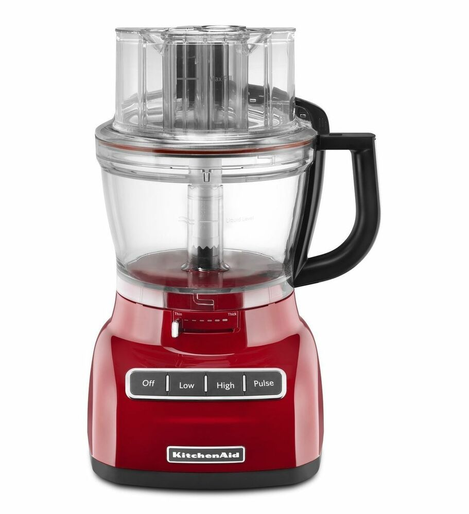 Toy Food Processor : Kitchenaid r kfp er cup l w wide mouth food
