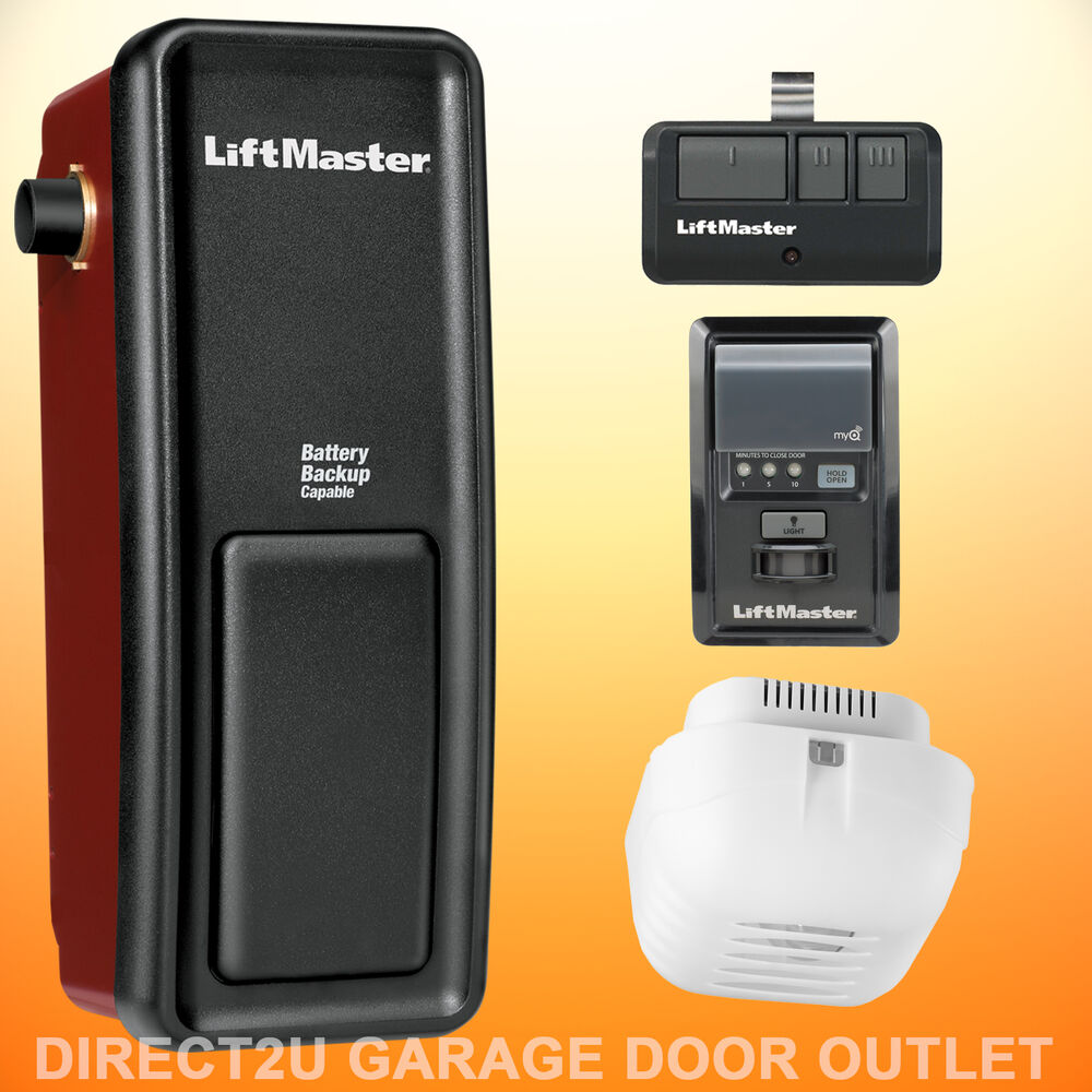 Liftmaster 8500 wall mount garage door opener multiple How to select a garage door opener