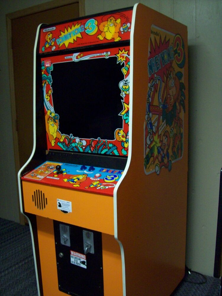 Donkey Kong 3 Fully Restored, Original Video Arcade Game ...