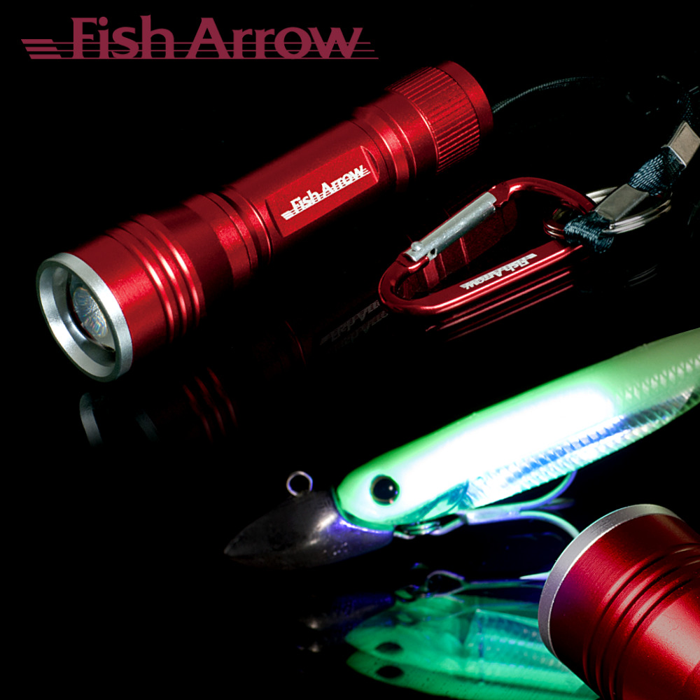Fish arrow uv led flashlight ebay for Uv fishing light
