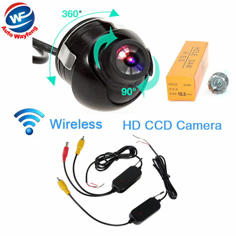 wireless 360 degree car rear view camera waterproof parking backup camera ebay. Black Bedroom Furniture Sets. Home Design Ideas